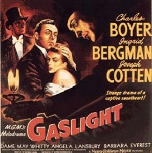 Movie poster that coined the term gas lighting
