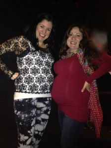I wasn't the only pregnant lady at the concert!