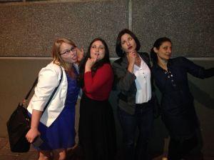 Courtney, Dee, Caroline, Simone
