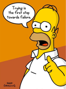Hhahaha. Oh Homer.  You tell it like it is :-)