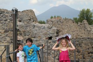 Pompeii, it was HOT!