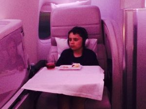 Flying Business class like a boss