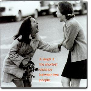 LaughterShortestDistnace