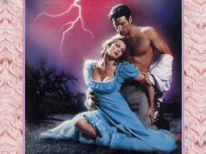 Typical romance novel scenario... meh.  Phteven is hotter than this guy and I have a much more beautiful and bountiful bosom. So there.