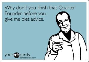 dietadvicehypocrite
