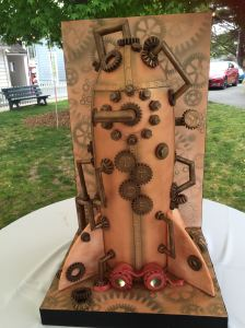 SteamPunkWeddingCake