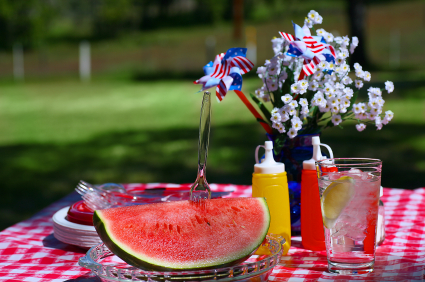 Old Fashioned Summer Picnic